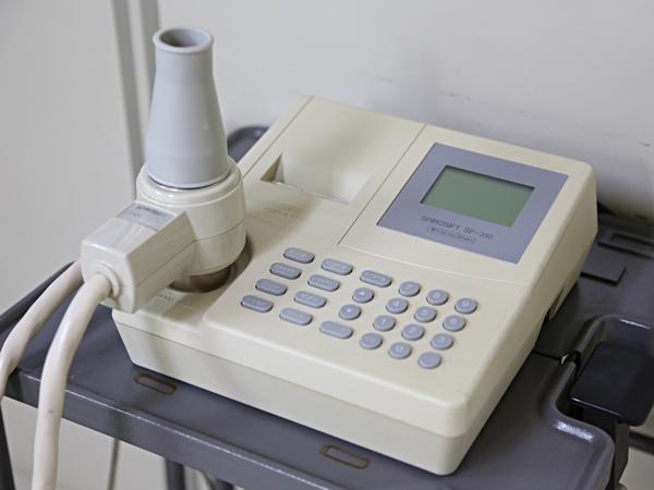 肺機能測定スパイロメーター